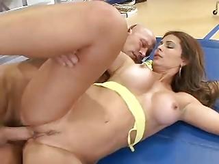 Mature Latina Filled By A Big Cock