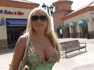 Savannah Gold meets a big cock man and has sex