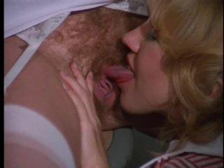 Foxy Retro Nurse Sucks and Bonks a Patient's Cock