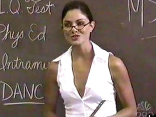 Stunning Brunette Babe Larissa Meek In a Super Sexy Teacher Role