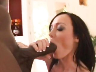 Seductive Melissa Lauren sucks Lex Steele's prick