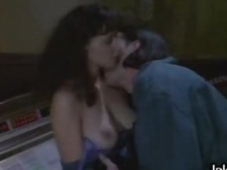 Busty Brunette Candellyn Hoffman Gets Screwed On a Chair in a Sex Scene
