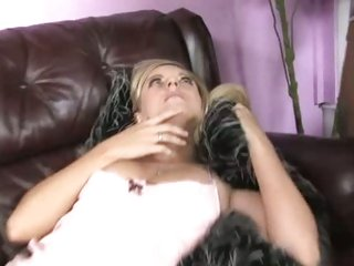 Sleeping Kylee Reese has her mouth stuffed with dick