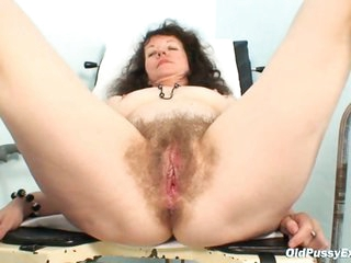 Karla visits gyno clinic with extremely hairy snatch