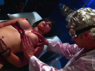 Scientist Bonks Brunettes Sarah Vandella and Shawna Lenee In 3some