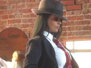 The Hottest Latina Mafia Boss Ever Mikayla Mendez Bonks Her Tailorman