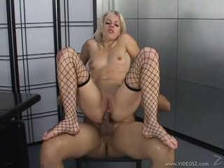 Breathtaking Angela Stone love bouncing her tight asshole on a massive hard prick