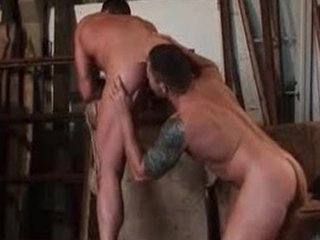 Gay fucking and sucking own dicks