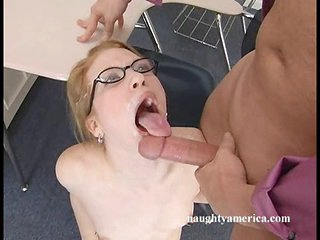 Hot Madison Young has hot sticky cum shot in her sweet mouth