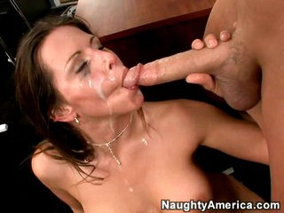 Slutty Rachel Roxx gets rocked by a impure load of spunk juice