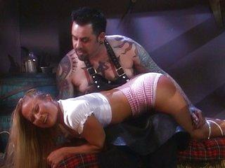 Blond farm gals bondage sex is amazing