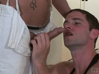 Horny hunk have the hots for big cocks and moist spunk in gay fuck