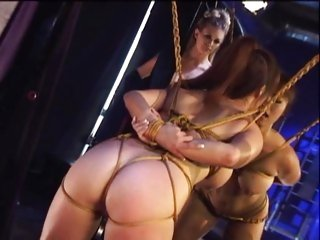 Fujiko Kano and Jenna Jameson in fetish lesbo action