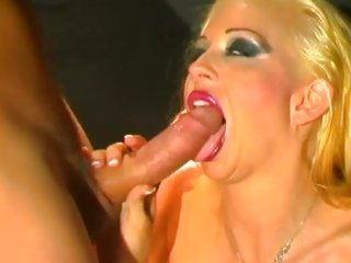 Luscious Chloe Dior takes a huge dick down her throat
