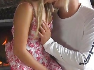 Cute Blonde Teen First Time Sex
