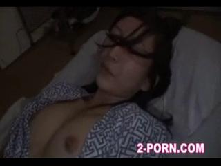 Cute milf fucked when in sleep