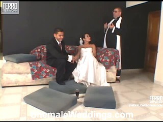 Thaina dicky shemale bride