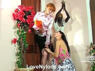 Judith&Irene passionate nylon movie