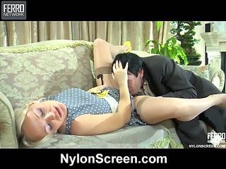 Dolly&Rolf naughty nylon action