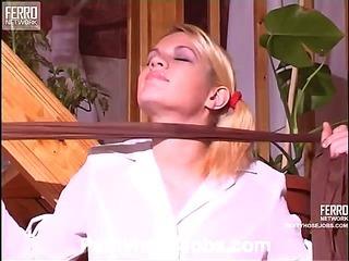 Kathleen&Desmond kinky pantyhose job scene