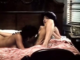 Spicy latin flavour of 80s porn star shared a girl