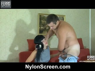 Muriel&Bobbie nasty nylon movie