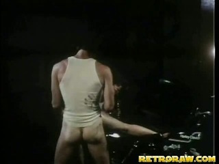 Screwing on top of his bike