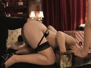 Hot pretty girl dominated and fucked there burnish apply ass by cruel landlord.