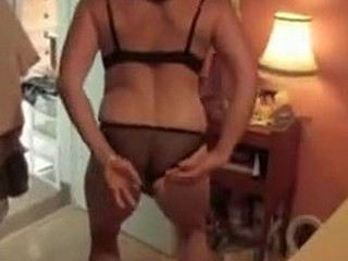 This mature couple doesn't like getting complicated, she likes to dress up in her sexy lingerie, dance around a bit only to get down and dirty for her man as soon as she reaches the bed. Fine amateur sex plain and simple in this amateur sex video.