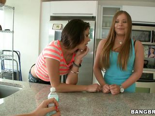 Mercedes Lynn & Anastasia Morna are two sexy lesbians who knows how to seduce a babe into threesome. They starts kissing & making out in front of Tosh Locks and this blonde bitch feels horny. As soon as she wants to join these two lesbians jumped on her, stripped her and started to lick & suck her pussy & clits!