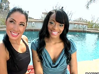 Sweet Jesus ... I really think u people are gonna love this weeks Assparade update. We brought in Monica Santhiago and Eve Madison for a rail session. My allies those two large booties get the shit railed out of 'em. I must say those gals are super fuckin fine as u can watch from the pics. Not solely are they fine but they can fuck and engulf dick get a kick out of fucking winners! If u don't watch this update your a fucking idiot!