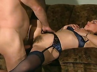 German Babe Fucks Older man