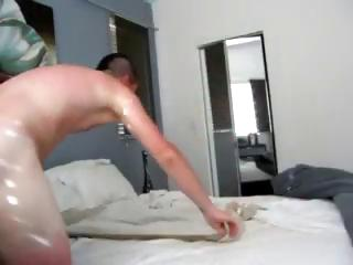 Couple fucking in their bed and she doesn't know he's filming