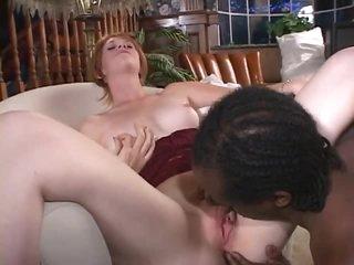 Milky white girl and a dark dick inside her