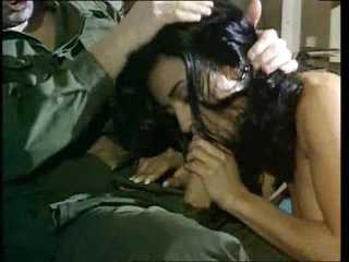 Military man acquires head and anal from a slut