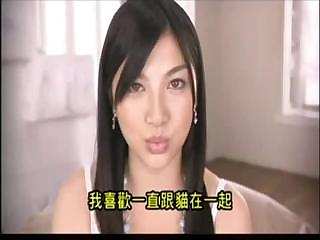 Beautiful Asian hotty shows off her body and sucks and fucks